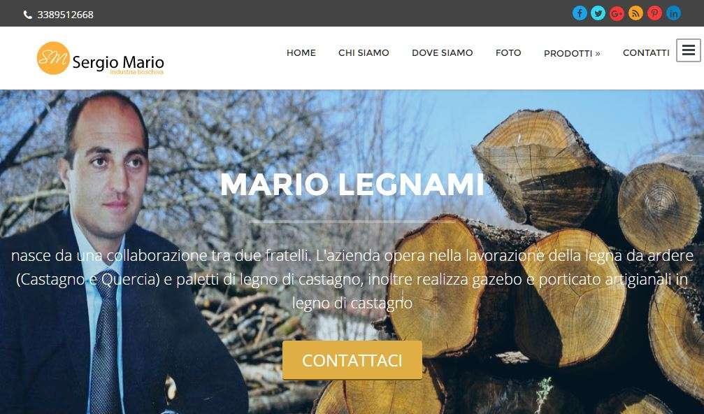 Sergio mario legnami roccamonfina for Progress caserta prodotti